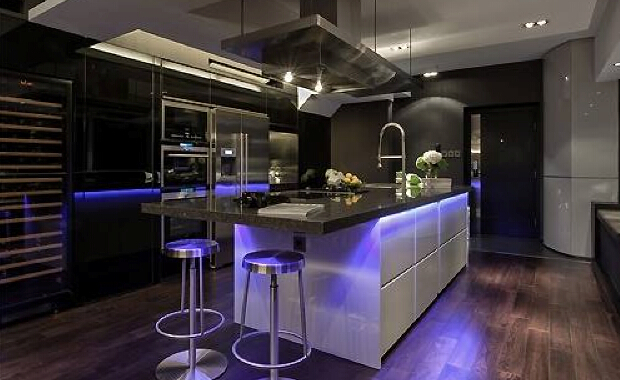 How To Use Flexible Led Strip Light Tyria Lighting - Led tube lights for kitchen ceiling